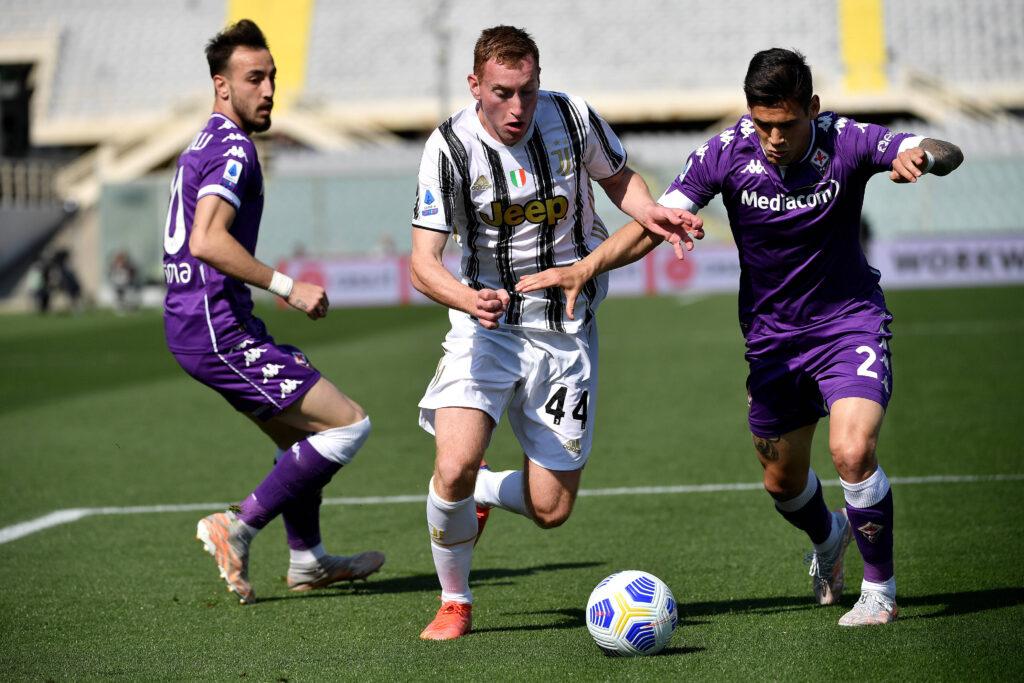 Martinez Quarta a duello con Dejan Kulusevski