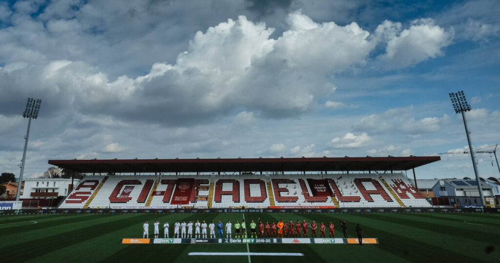 Lo stadio Tombolato