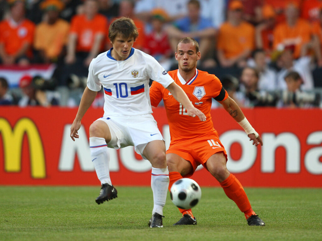 Arshavin vs Olanda - Foto Imago OneFootball