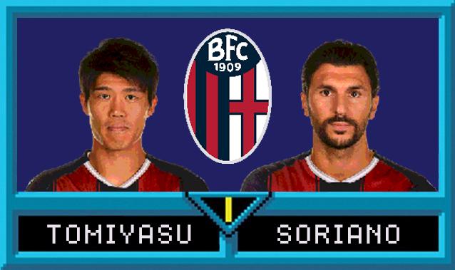 Takehiro Tomiyasu e Roberto Soriano