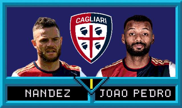 Nahitan Nández e João Pedro