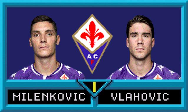 Nikola Milenkovic e Dusan Vlahovic