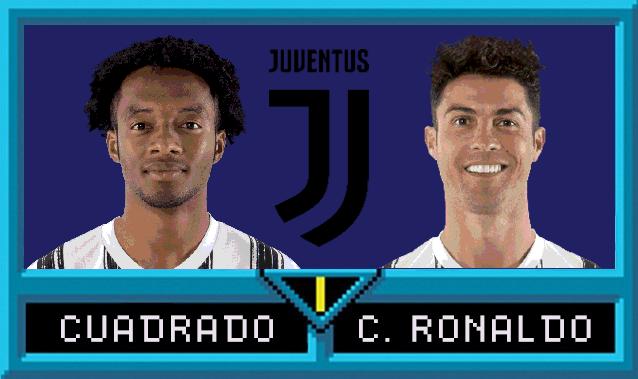 Juan Cuadrado e Cristiano Ronaldo in Serie A Jam
