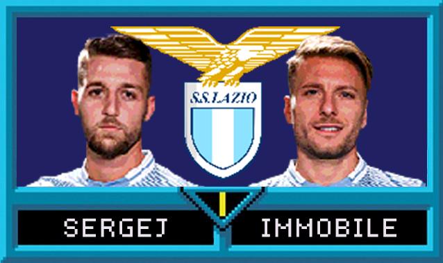Sergej Milinković-Savić e Ciro Immobile in Serie A Jam