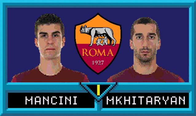 Gianluca Mancini e Henrikh Mkhitaryan in Serie A Jam
