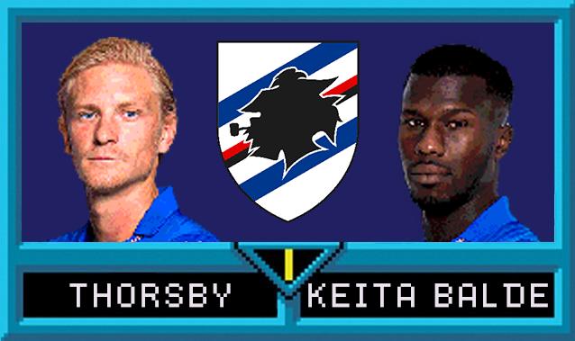 Morten Thorsby e Keita Baldé in Serie A Jam