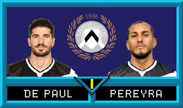 Rodrigo de Paul e Roberto Pereyra