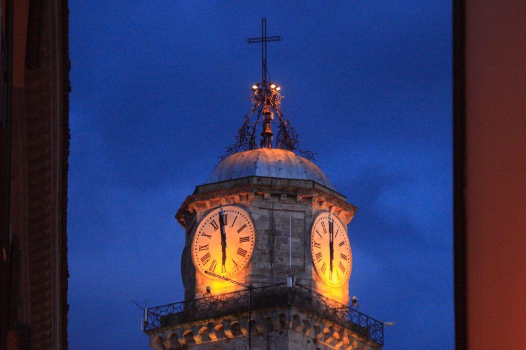 Il campanile di Frosinone