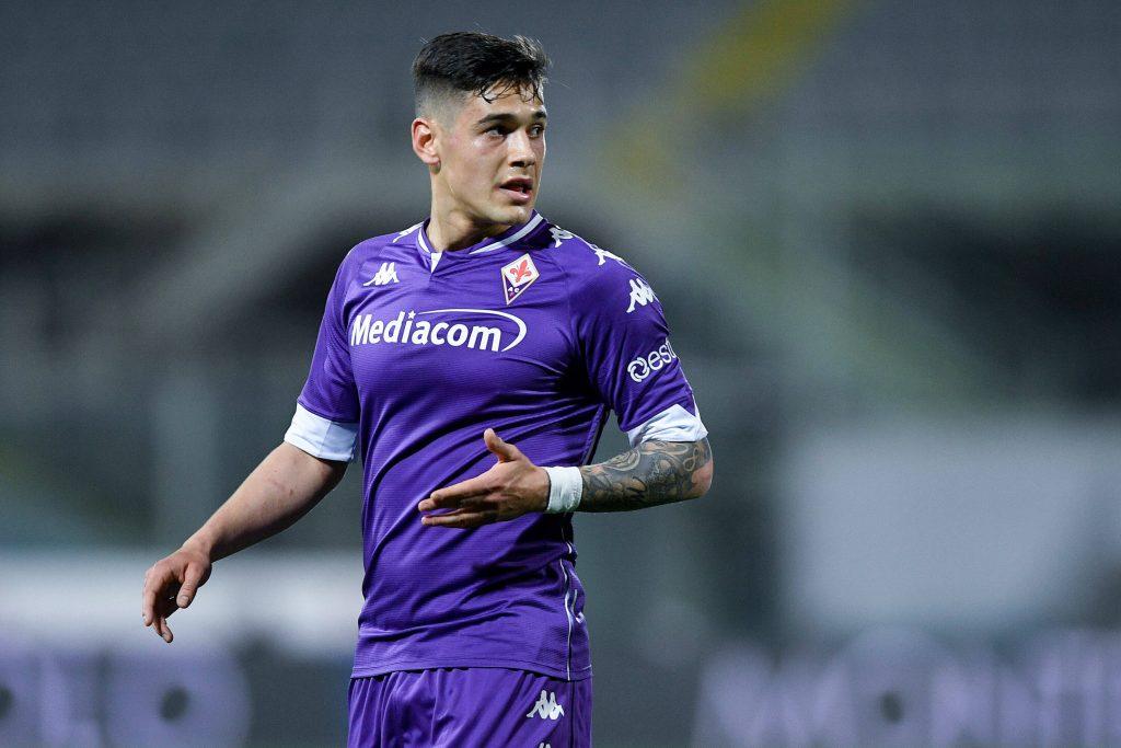 Martinez Quarta con la Fiorentina