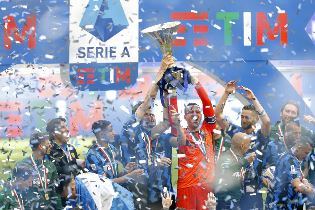 La festa Inter per lo Scudetto