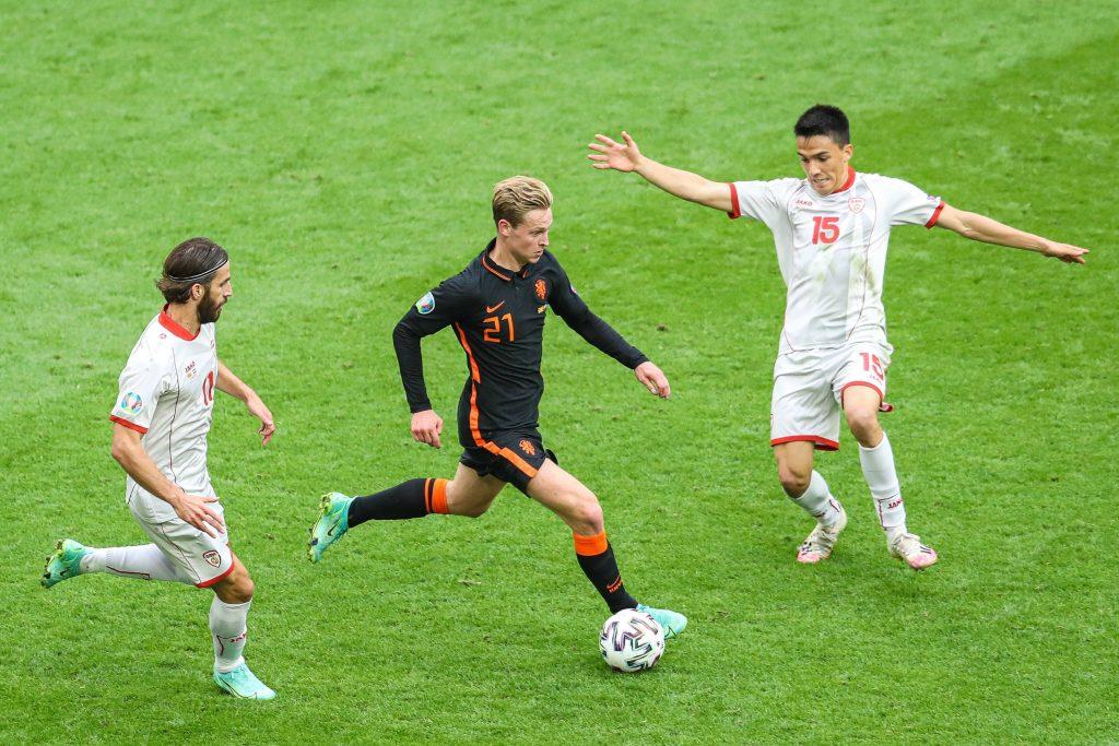 De Jong in azione a Euro 2020