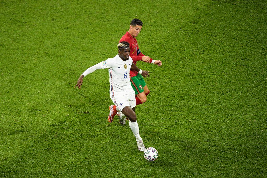 Pogba in azione a Euro 2020
