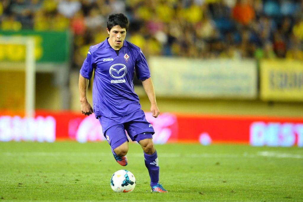 Facundo Roncaglia in maglia Fiorentina