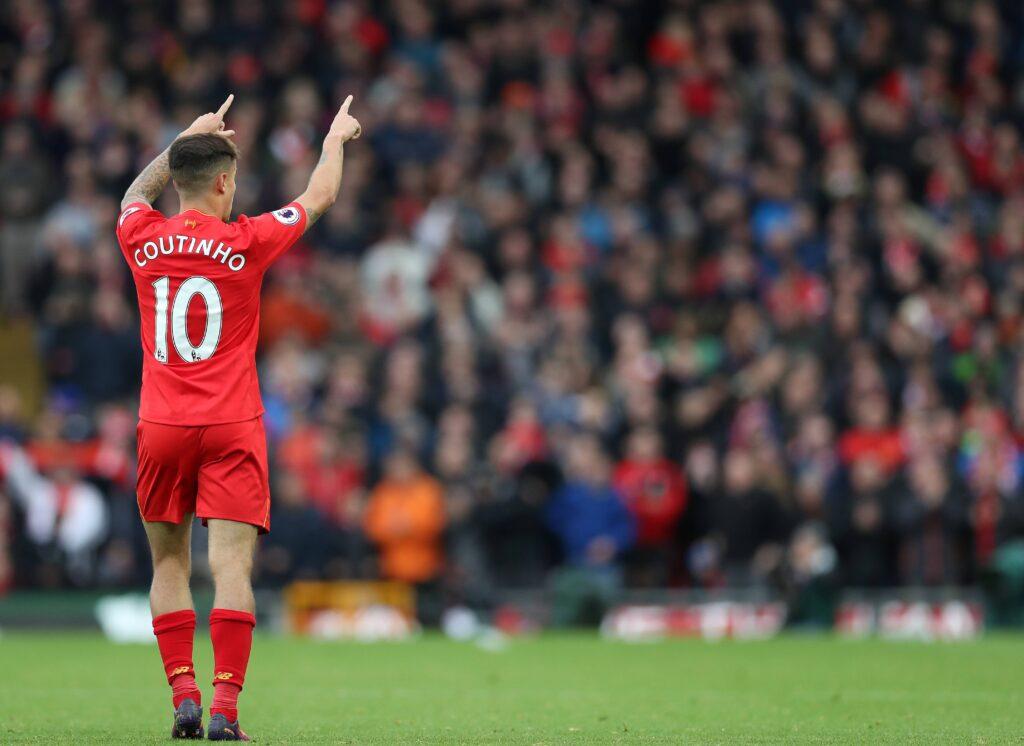 Il fantasista brasiliano ad Anfield