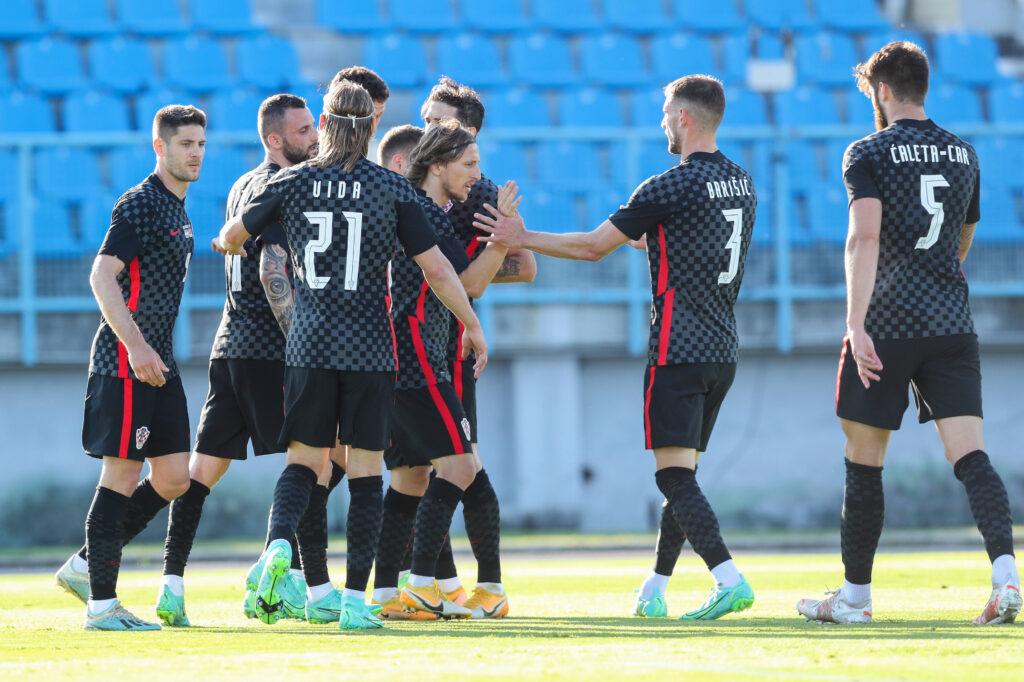 La Croazia esulta in vista di Euro 2020