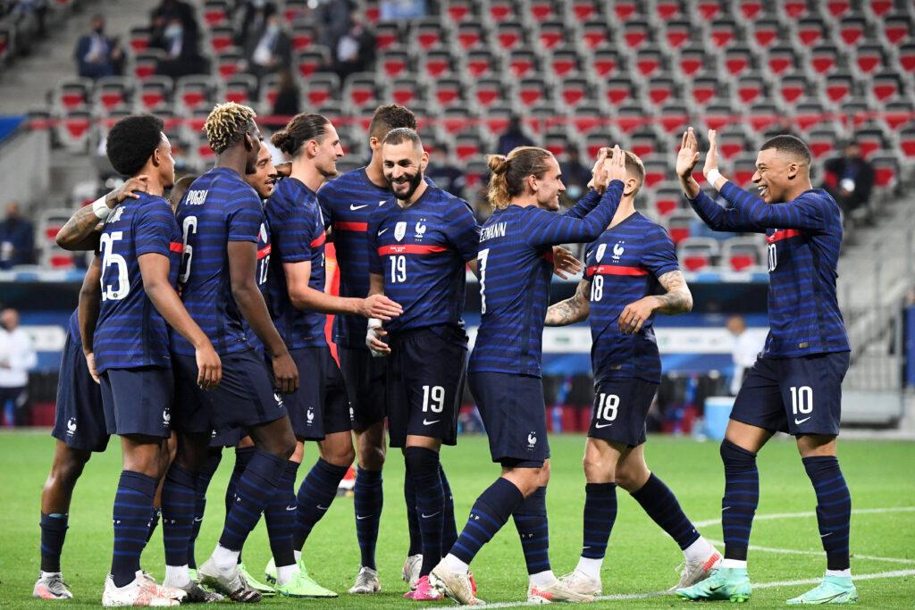 La Francia esulta in vista di Euro 2020