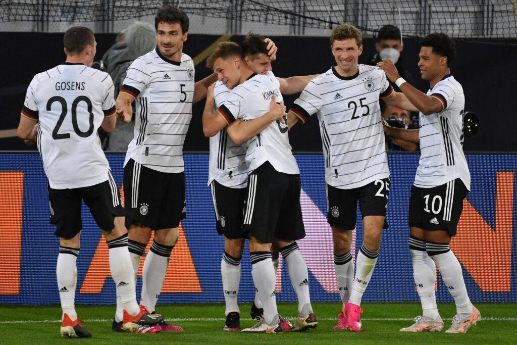 La Germania esulta in vista di Euro 2020