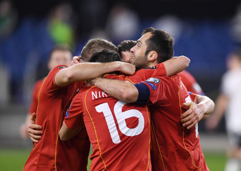 La Macedonia del Nord esulta in vista di Euro 2020