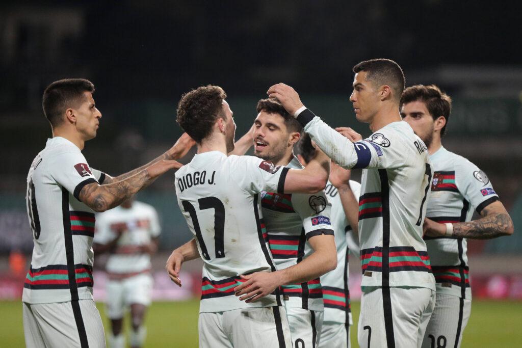 Il Portogallo esulta in vista di Euro 2020