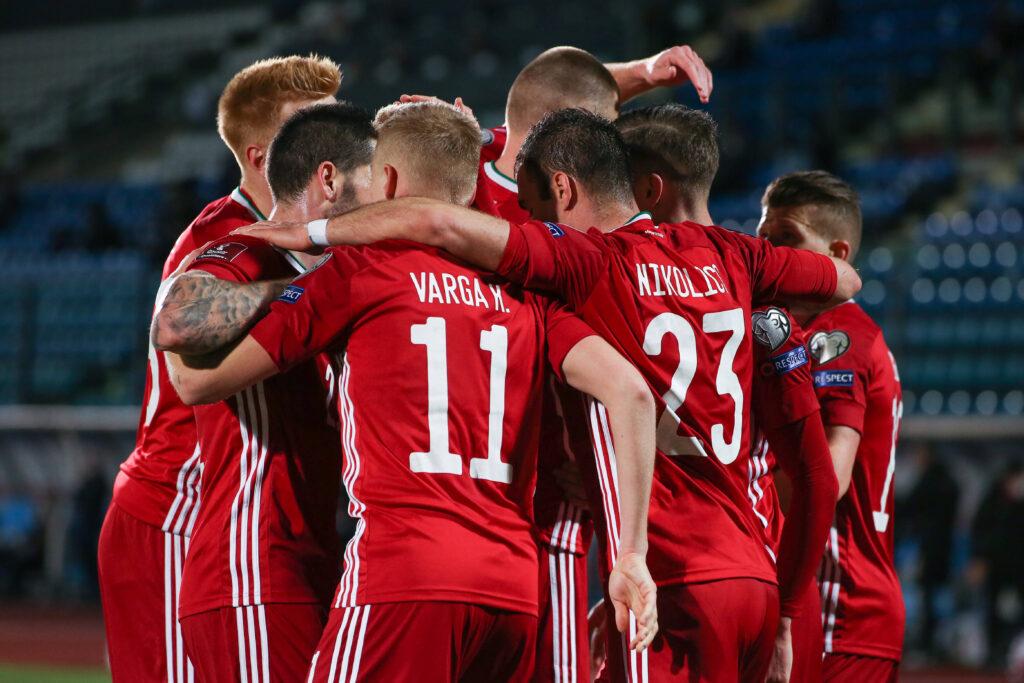 L'Ungheria esulta in vista di Euro 2020