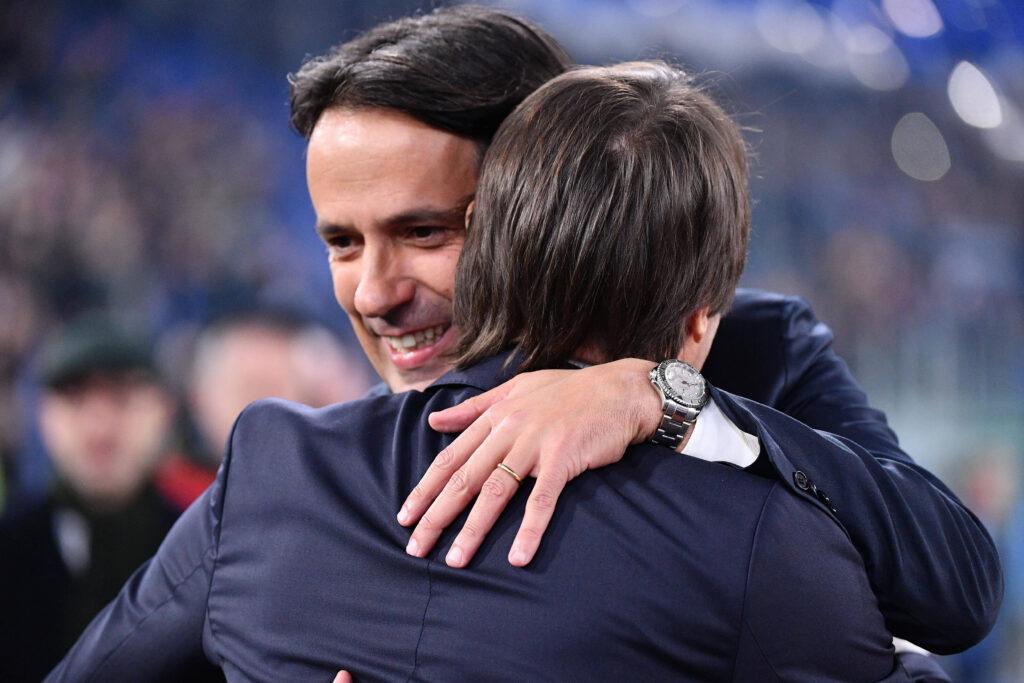 Simone Inzaghi e Antonio Conte