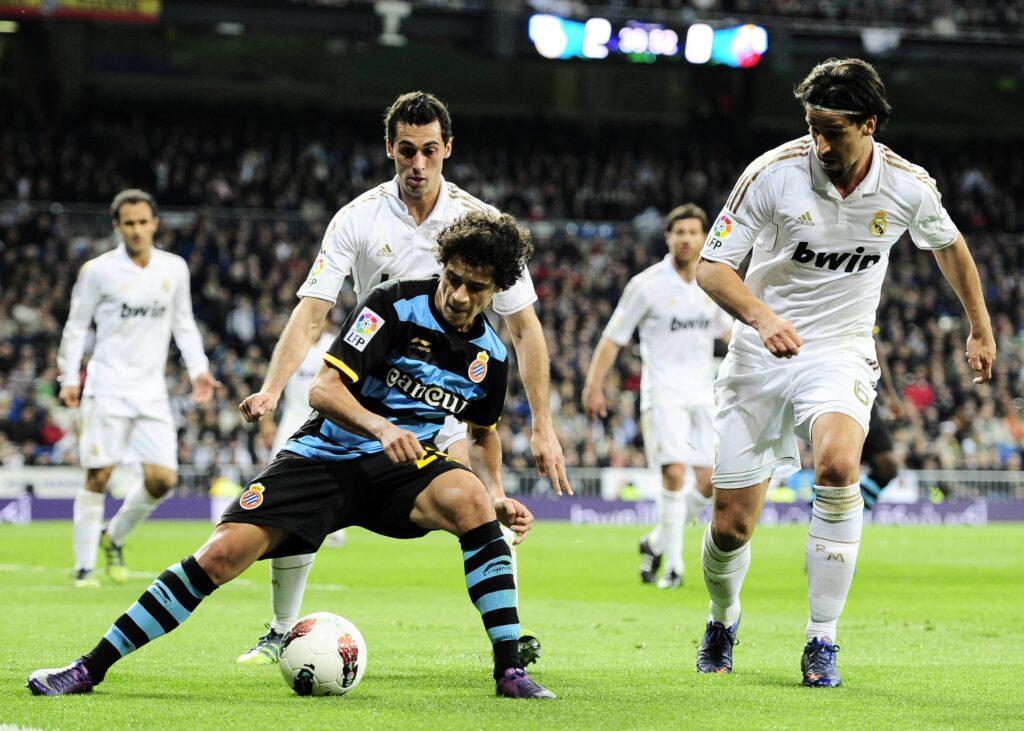 Philippe Coutinho con la maglia dell'Espanyol