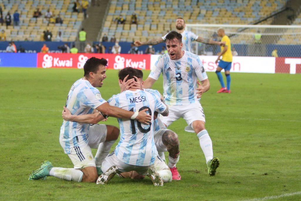 L'Argentina festeggia Messi in Copa America