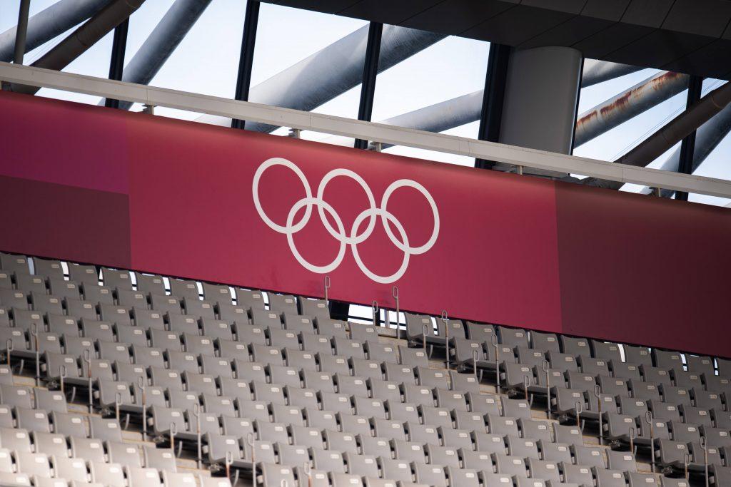 I cinque cerchi simbolo dei Giochi Olimpici