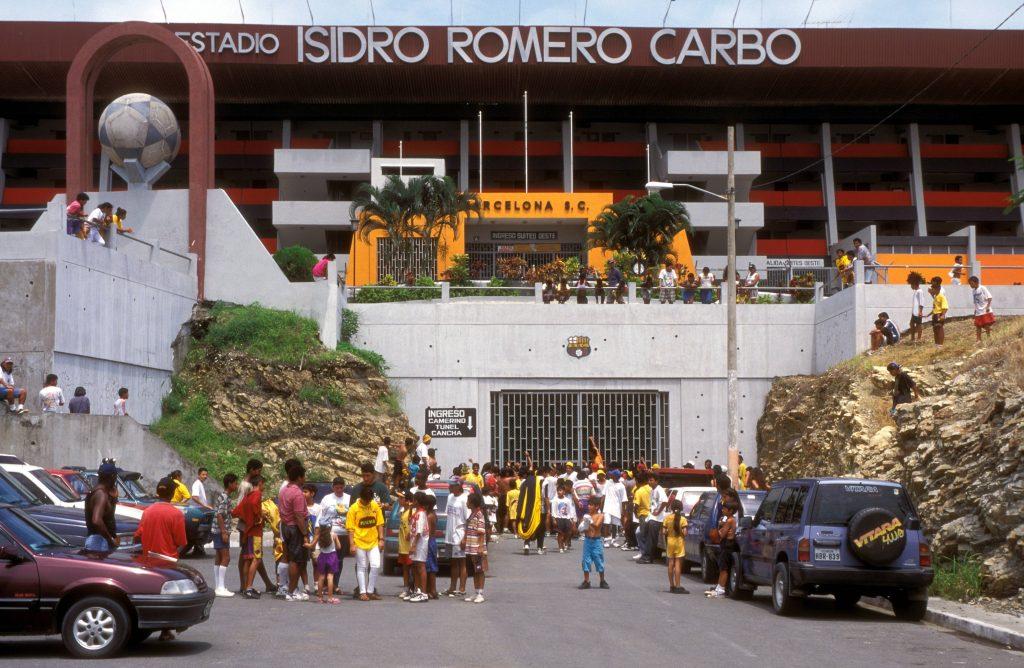Lo stadio Isidro Romero Carbo, casa del Barcelona SC