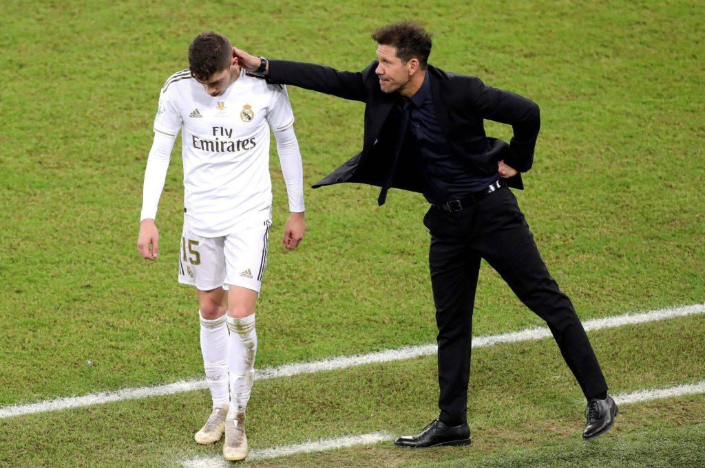 Simeone e Valverde