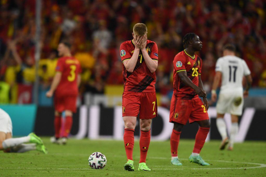 Kevin De Bruyne dopo l'eliminazione da Euro 2020