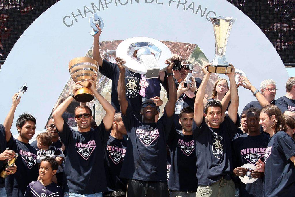 I festeggiamenti del Bordeaux