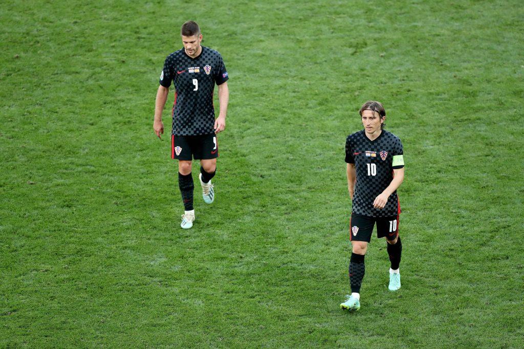 Modric e Kramaric in maglia croata