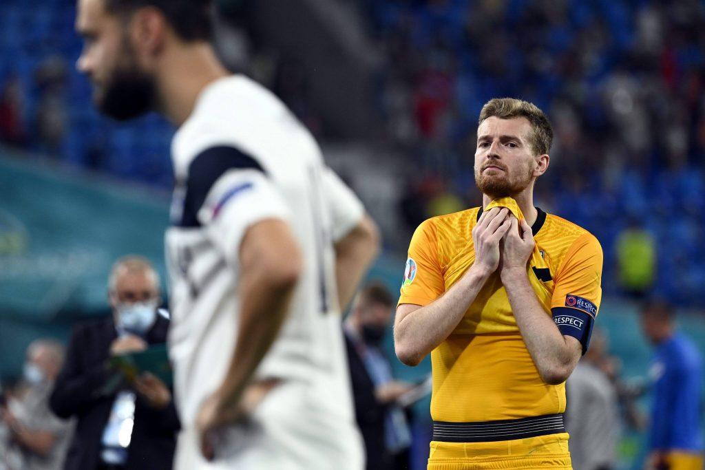 Hradecky dopo l'eliminazione della Finlandia da Euro 2020
