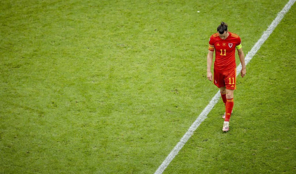 Gareth Bale sconsolato a Euro 2020