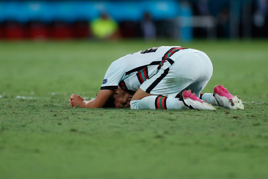 Joao Felix disperato a Euro 2020