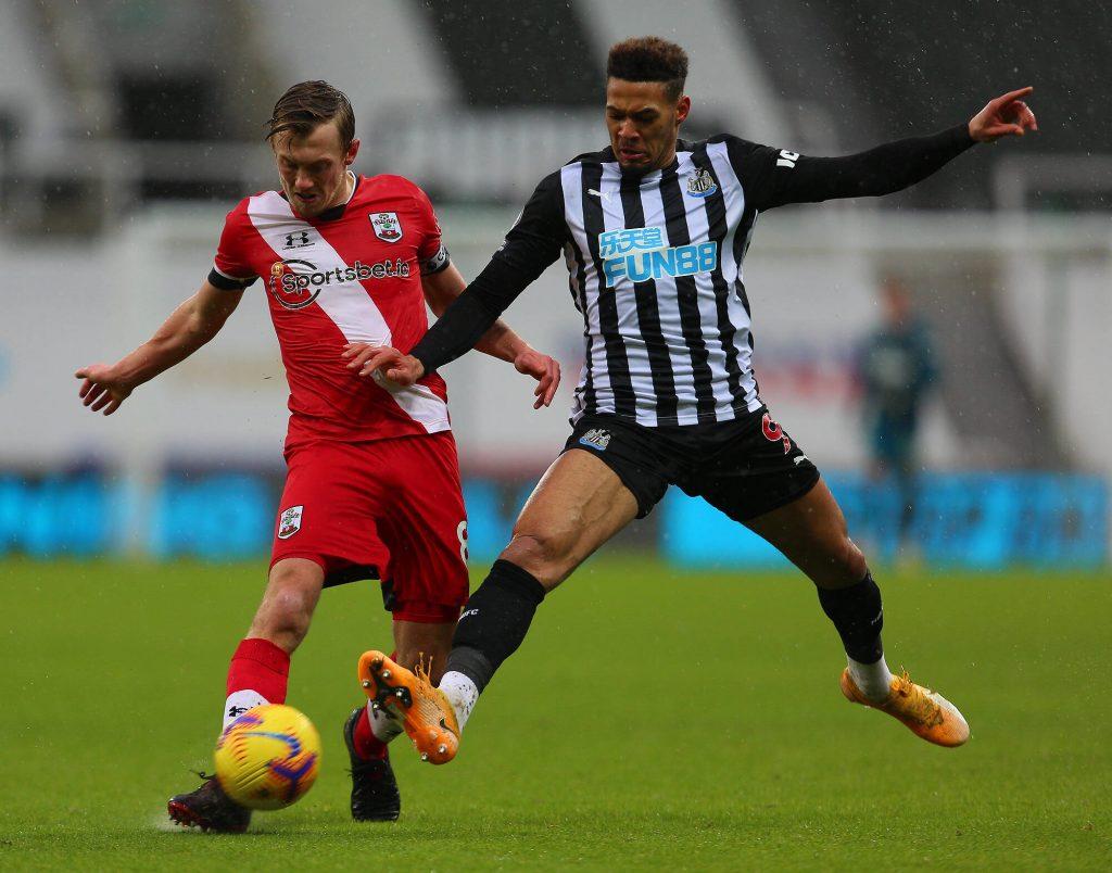 Newcastle e Southampton in Premier League