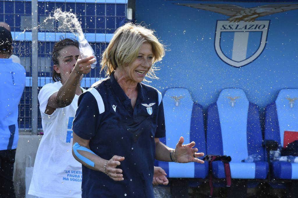 I festeggiamenti per la promozione della Lazio in Serie A