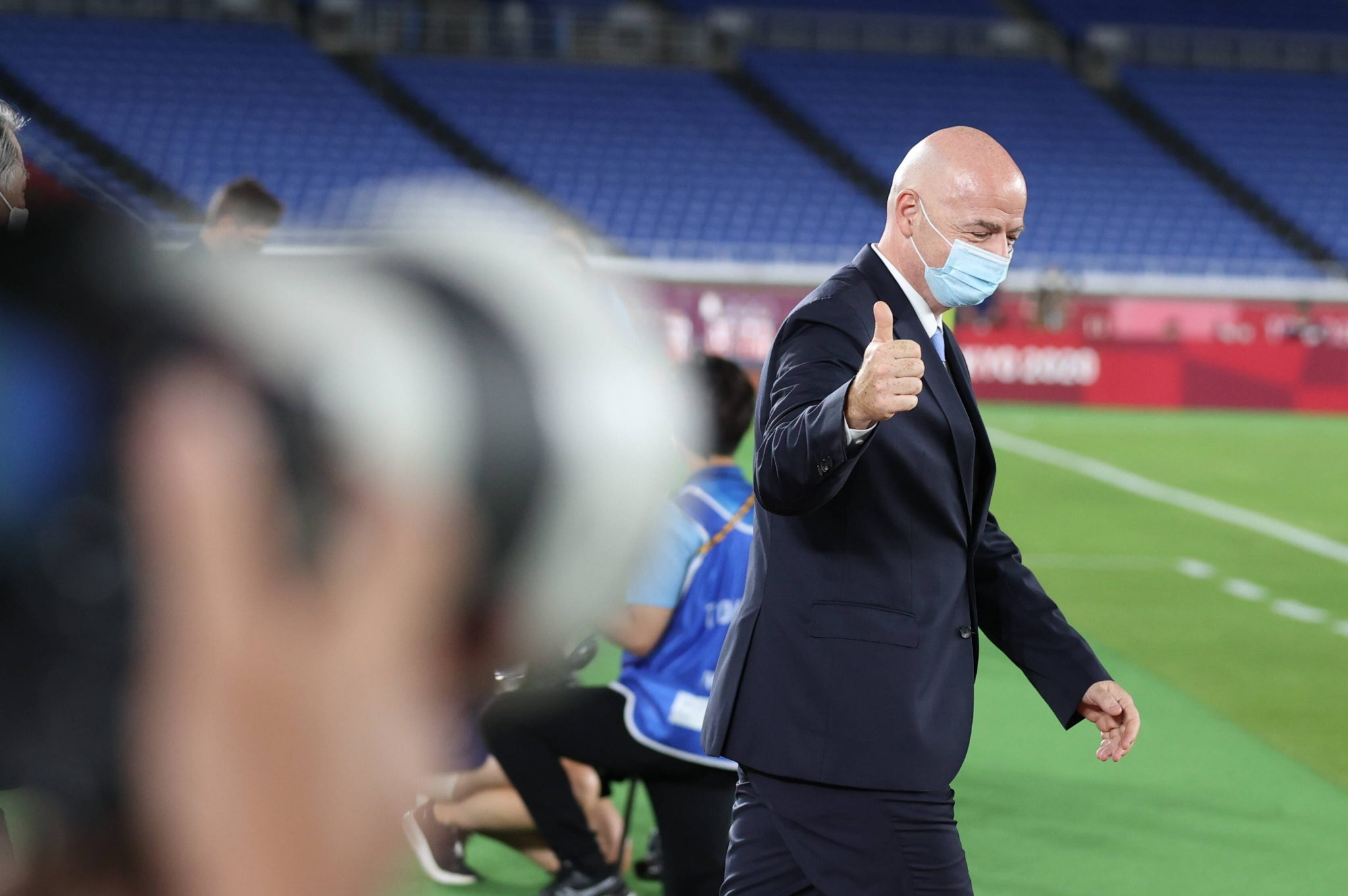 Gianni Infantino, presidente FIFA nonché ex segretario UEFA