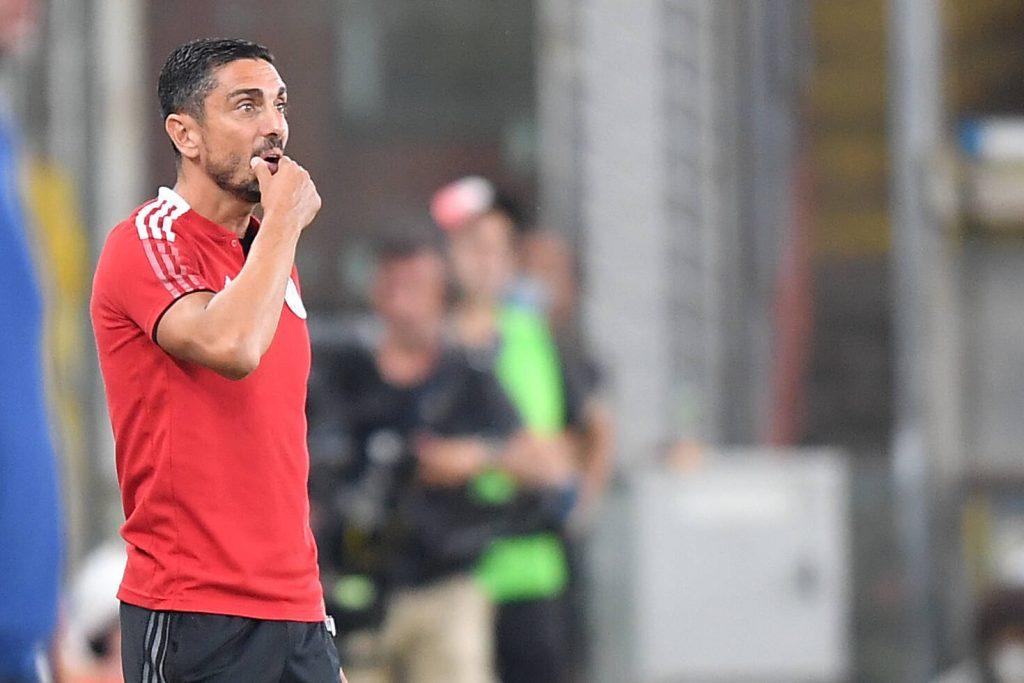 Moreno Longo in panchina