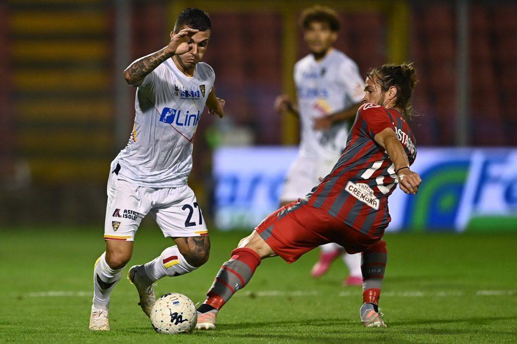 Strefezza e Castagnetti durante la prima giornata di Serie B