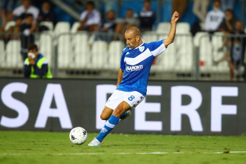 Palacio in azione durante la prima giornata di Serie B