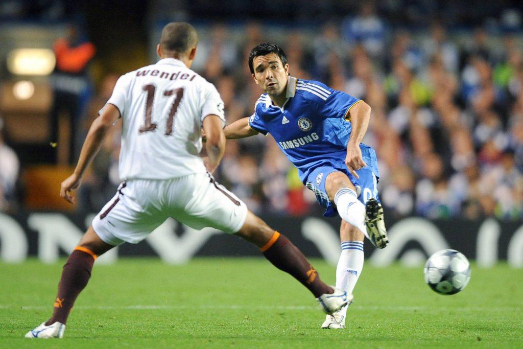 L'ex Porto in azione con la maglia del Chelsea
