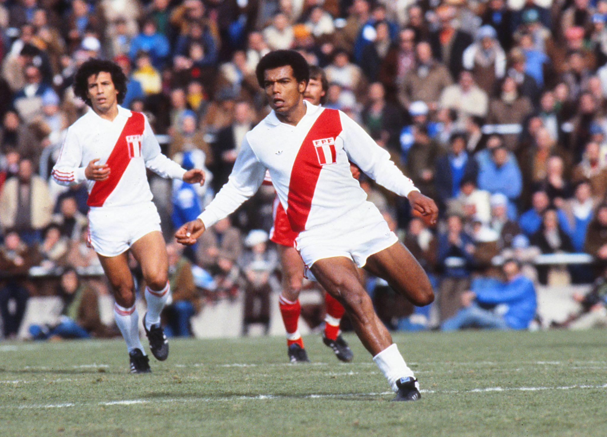 La squadra peruviana in azione durante il Mundial