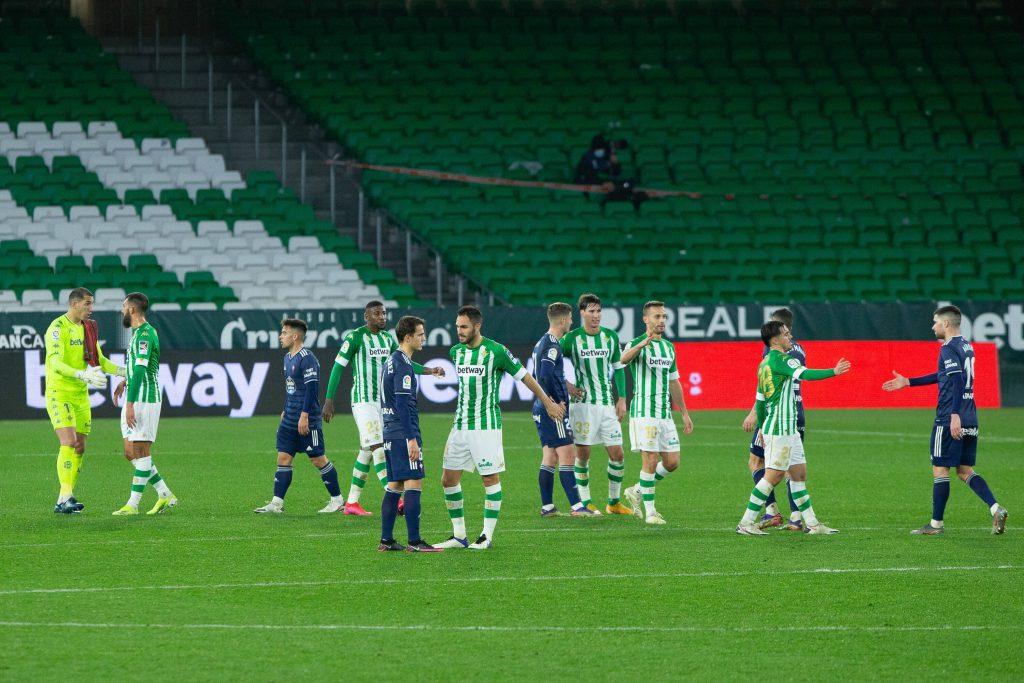 Betis e Celta nell'ultima partita di Liga disputata dalle due suadre