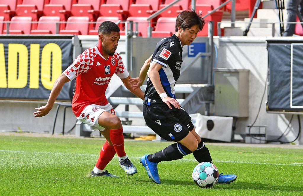 Lo scontro della passata Bundesliga tra Mainz e Arminia
