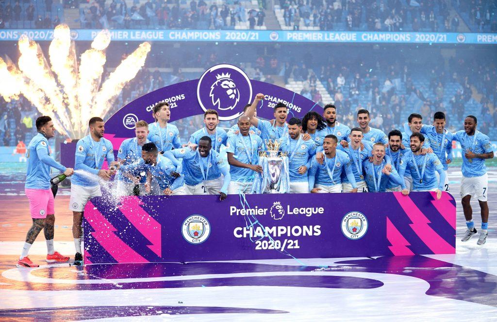 Manchester City campione d'Inghilterra 20/21