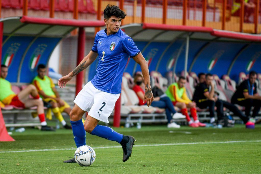 Bellanova con l'Italia Under 21 in una delle ultime apparizioni