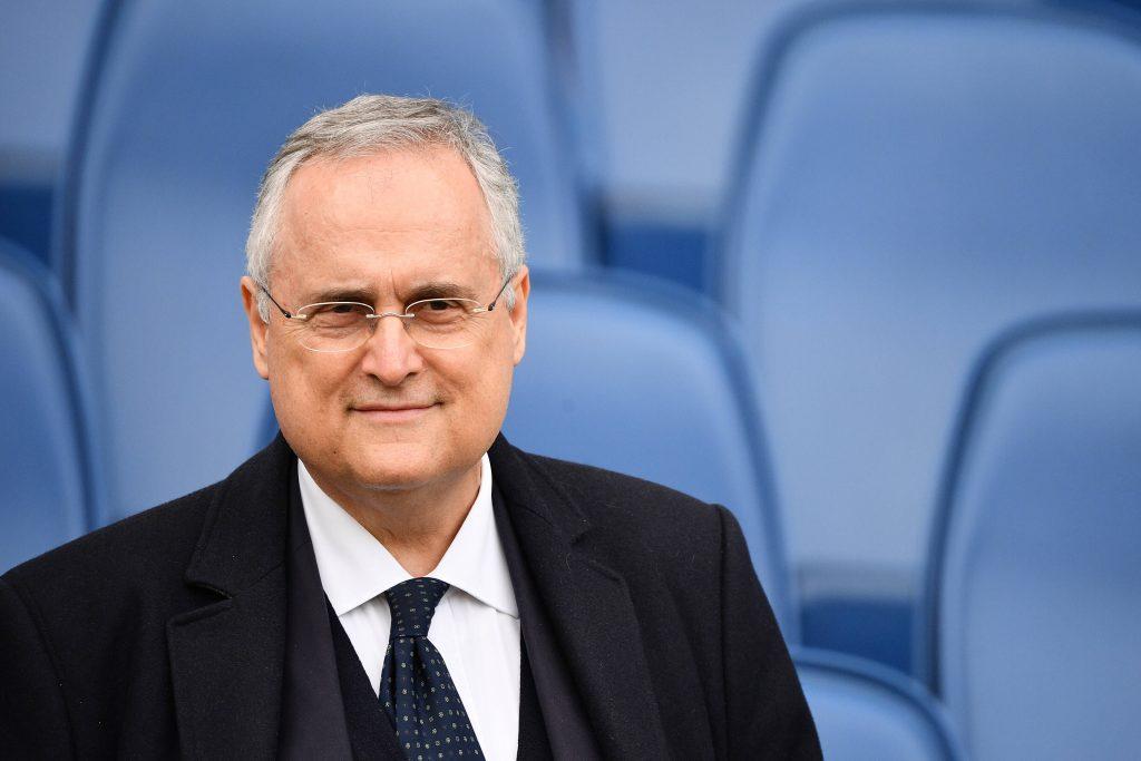 Claudio Lotito il presidente della Lazio