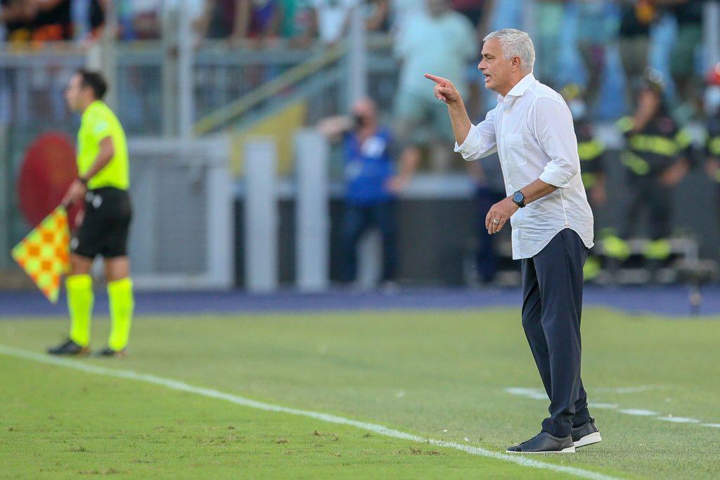 Jose Mourinho e la sua Roma andranno a caccia della Conference League
